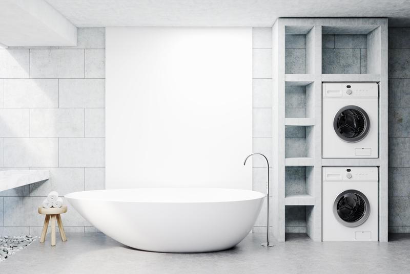Wasmachine In De Badkamer Plaatsen Hier Moet Je Op Letten Wonenwebsite