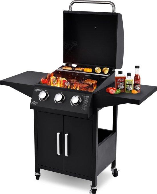 MaxxGarden Gas barbecue met 3 branders