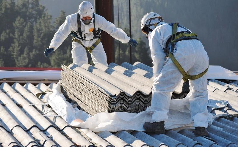asbestplaten verwijderen